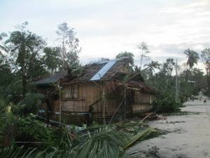 From pics taken in our province of Aklan, Madalag, Philippines, after Typhoon Haiyan.
